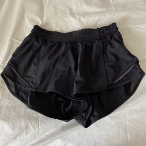"Lululemon Hotty Hot Shorts 2.5"" inseam"